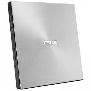 华硕 SDRW-08U7M-U 兼容苹果MAC系统外置光驱DVD刻录机 银色