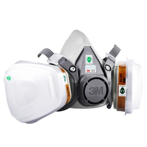 3M实用型半面防护面罩 6200 中号