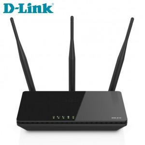 D-LINK 无线路由器 DIR-816 750m 双频无线路由器 黑色