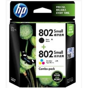 HP 802墨盒套装/黑+彩(单位:套)