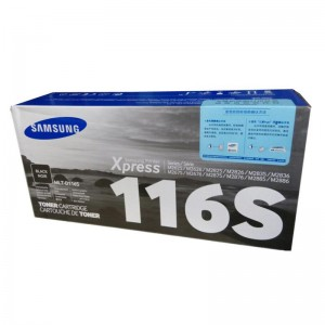三星 MLT-D116S 原装墨粉盒 低容 黑色 适用于2676,2876,2626,2826