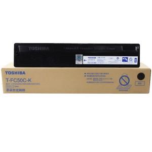 东芝(TOSHIBA)T-FC50C墨粉2555 3055 5055 3555C碳粉 粉盒颜色:T-FC50C-K黑色570克
