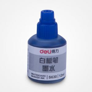 得力 S630 白板笔墨水(蓝色)