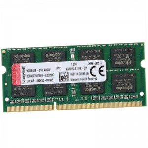 金士顿 KVR16S11-8G DDR3 1600 笔记本内存 8GB 绿色