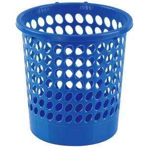 L201 圆形经济型纸篓24cm 蓝 (单位:个)