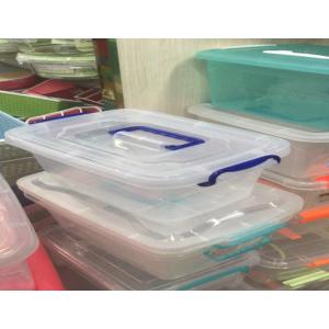 国产 加厚透明收纳箱塑料盒子 (销售单位:个)