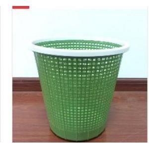 365 27.5*26cm 塑料 网格纸篓/ 垃圾桶