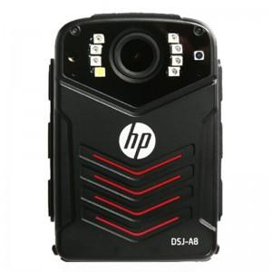 惠普(HP) 执法记录仪 DSJ-A8 标配64G 3600万像素高清红外1296P防爆黑色