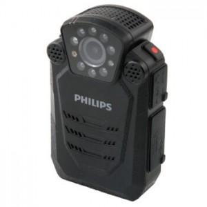 飞利浦 PHILIPS VTR8200 便携音视频记录仪1296P高清红外广角夜视摄像机执法仪录音笔拍照一体机 激光定位