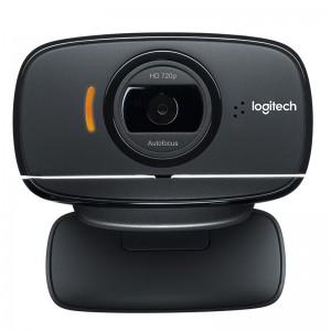 罗技高清摄像头 C525 800万像素 720P 内置麦克风 USB2.0 黑色