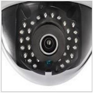 海康威视 高清网络摄像头 DS-2CD2125F(D)-I(W)(S) 半球4mm焦距 白色