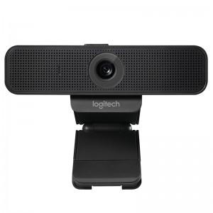 罗技 高清网络摄像头 C925e 3倍数码变焦 黑色