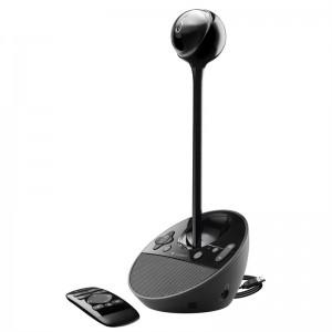 罗技(Logitech)BCC950 商务高清会议视频摄像头 黑色