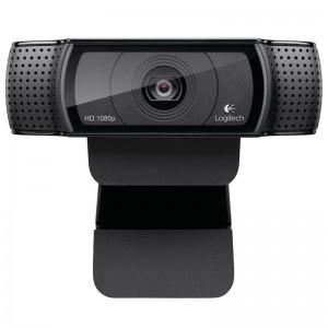 罗技(Logitech)Pro C920 高清网络摄像头 黑色