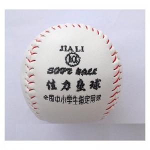 佳力 10寸 垒球 实心球 中小学生训练专用垒球