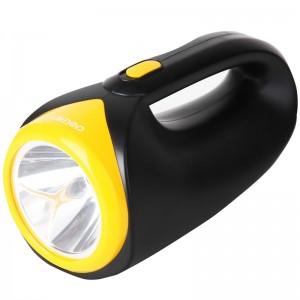 得力3667 充电式手提两档强光探照灯/ LED手电筒