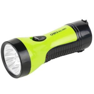 得力充电式LED手电筒3661