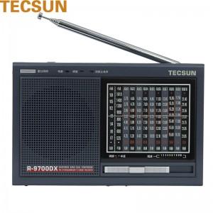 德生 收音机 R-9700DX FM87-108MHZ AM525-1610KHZ 耳机 充电电压6V 181*116*31mm 混色