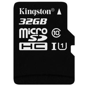 金士顿TF卡(Micro SD) SDCS/32GB 32GB 80MB/s TF Class10 UHS-I防水抗震高速存储卡 黑白
