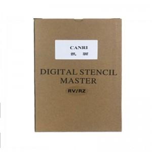 凯骊 RV/RZ 替代理想S-6648 S-2092 版纸 黑色 适用理想RV3650/EV3760/EV3750ZL/ES3761/ES3751ZLL系列(2卷/盒)