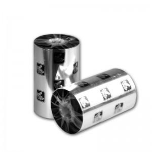 斑马 增强蜡基碳带 A1701 110mm*300m 2.5cm大轴芯 黑色
