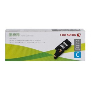 FujiXerox/富士施乐 CT201596 青色 1 支 碳粉 适用机型:DocuPrint/CM205b/CM205f/CM215b/CM215f/CM215fw/CP105b/CP205/CP215/CP215w