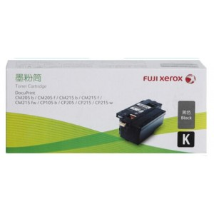 FujiXerox/富士施乐 CT201595 碳粉 黑色 1支 适用机型:DocuPrint/CM205b/CM205f/CM215b/CM215f/CM215fw/CP105b/CP205/CP215/CP215w