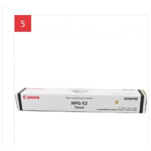 CANON/佳能 NPG-52 碳黑 1 支 23000 页 碳粉 适用机型见商品详情