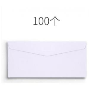 立信 开口4*9cm 白色信封 一包100张 单位:包