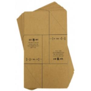 立信192-27牛皮凭证包角套装 25份/套 单位:套