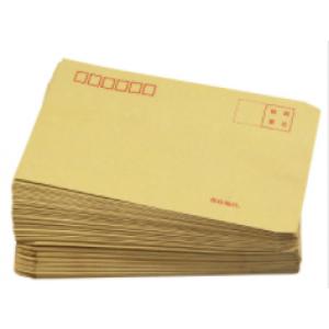 国产牛皮纸信封6号 120g 单位:定制款3000个