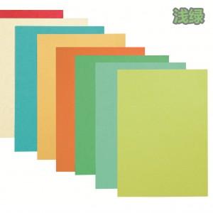 星旺 彩色皮纹封面纸 A4 100张/包 210克 浅绿
