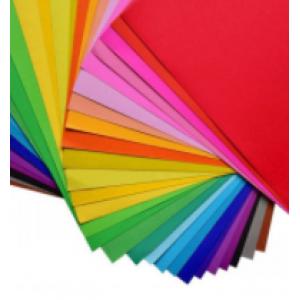 国产250克彩色卡纸 500*700mm 颜色随机 100张/包 单位:包