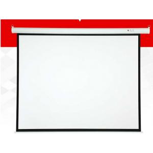 红叶 120寸 电动幕 4:3白色 (高1850*宽2440mm)  单位:台