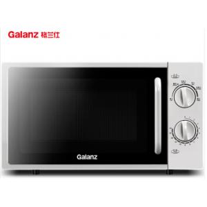 格兰仕(Galanz)P70F20L-DG(S0)家用小型迷你平板机械旋钮微波炉 20升700瓦 六档火力 加热解冻 单位:台