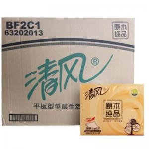 清风 BF2C1 平板加厚卫生纸 350张/包 30包/箱 (计价单位:箱)