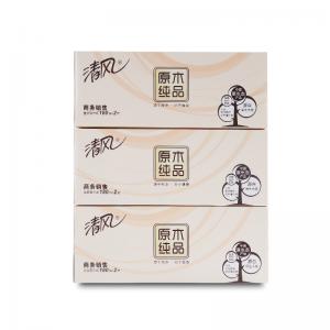 B339A18 3层x180抽 原木纯品盒装纸 3盒/提*(12提/箱) (单位:箱)