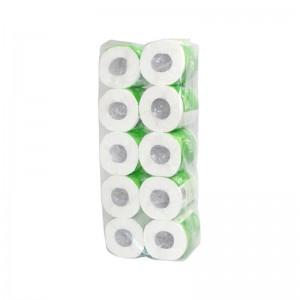 清风 B22AA3 特柔三层卷纸卫生纸 110mm*100mm*245段(3层)10卷*10提/箱
