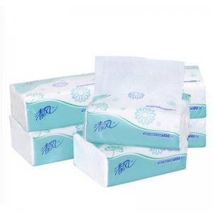 清风 100抽 清风抽纸 B106C 纸巾卫生纸抽卫单层72包/箱