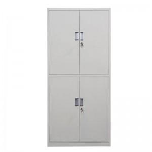 创美 CM-004 1850*850*390mm 文件柜钢制铁皮柜资料柜 通体双节柜