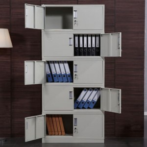 创美 CM-005 2030*850*390mm 档案柜铁皮柜凭证柜分 五节柜 文件柜