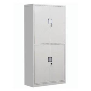 创美 CM-100 文件柜钢制铁皮柜资料柜 通体双节柜 1800*900*500