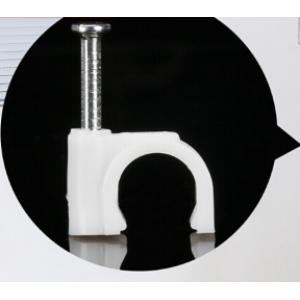 拓进 网线固定扣 线卡子电线固定墙面卡钉 圆形20mm 100只/包【4分管】