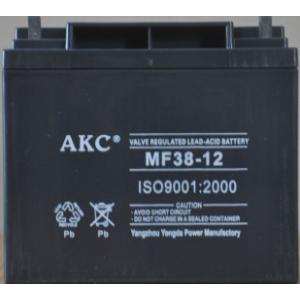 AKC 12伏38安时蓄电池