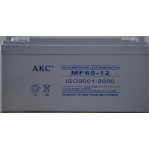 AKC 12伏65安时蓄电池