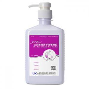 洁芙柔(JIFRO) 利康免洗洗手液500ml 免洗消毒液 去污消毒凝胶