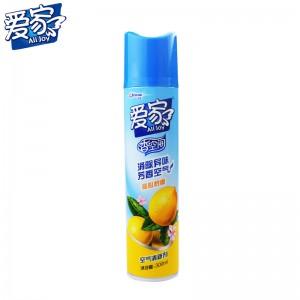 爱家 300ML 柠檬香 空气清新剂 (24瓶/箱)(单位:瓶)