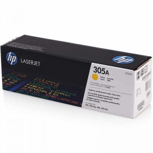 惠普(HP) 打印机硒鼓颜色:CE412A 305A 打印量2600页 黄色