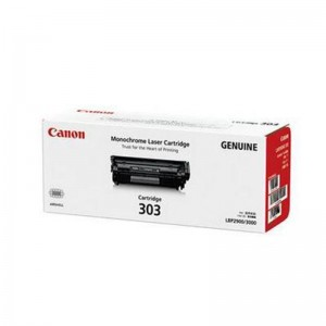 佳能/Canon CRG-303 原装硒鼓 黑色硒鼓(适用LBP-2900 3000)(WSZ)