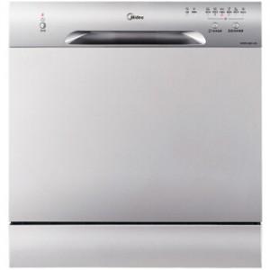 美的 MIDEA 8套智能除菌洗净台式嵌入式两用家用洗碗机WQP8-3801-CN
